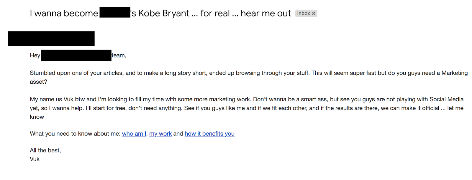 successful candidate email template