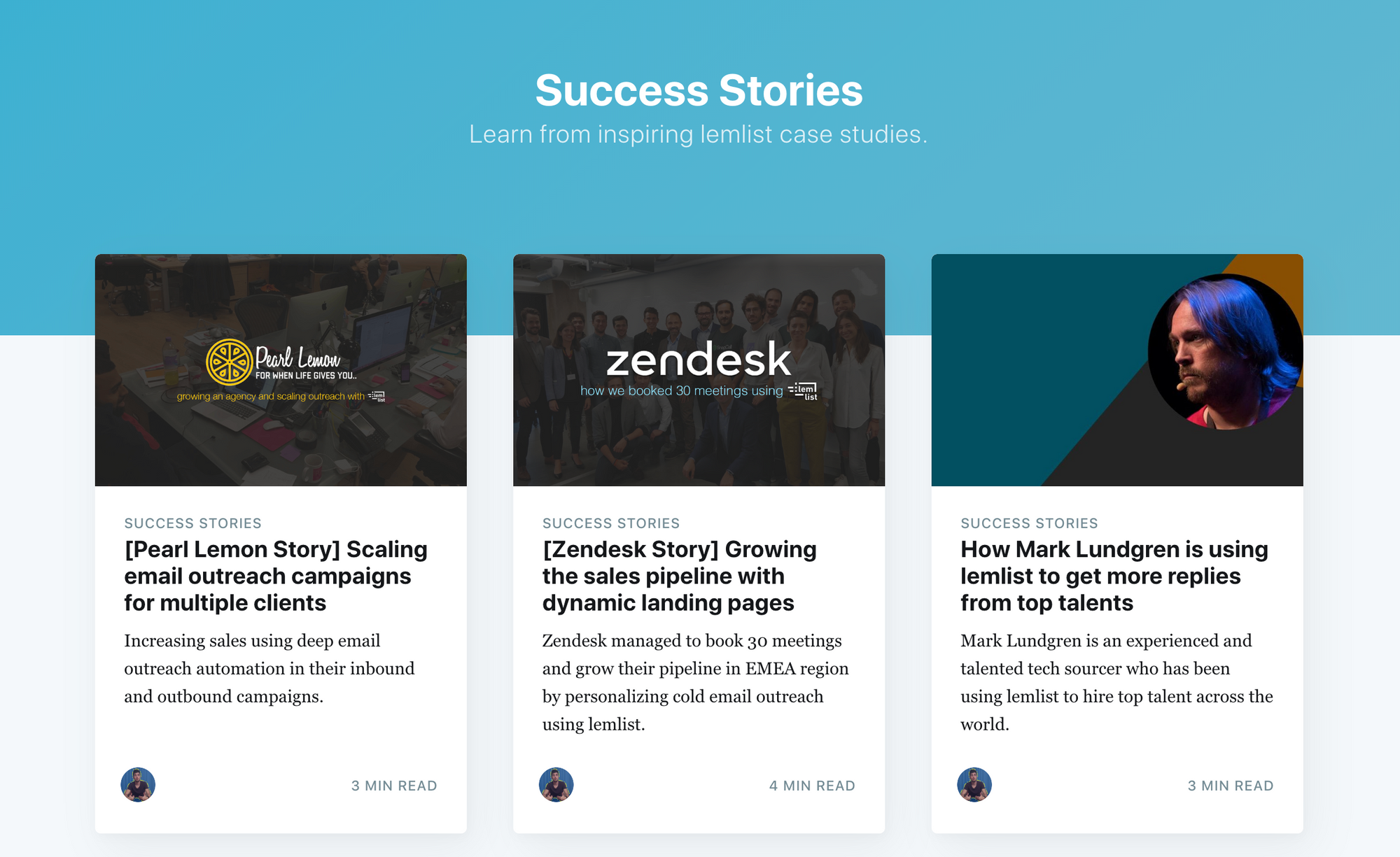 lemlist success stories