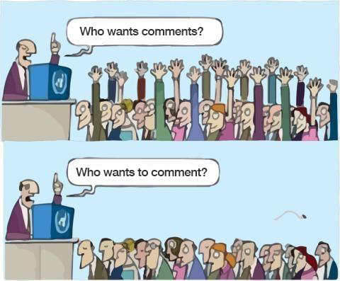 How to get LinkedIn comments