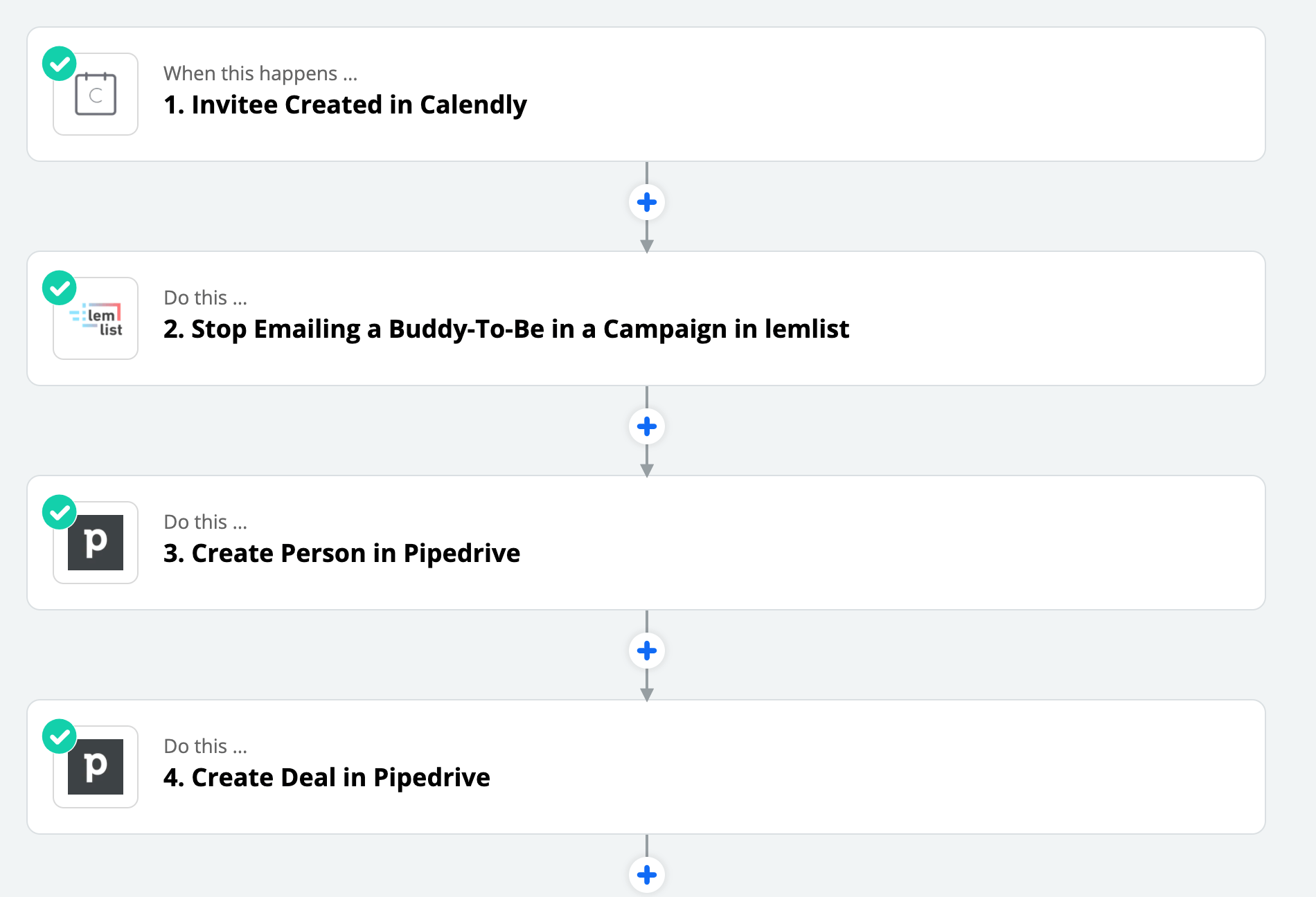 Calendly Pipedrive CRM integration
