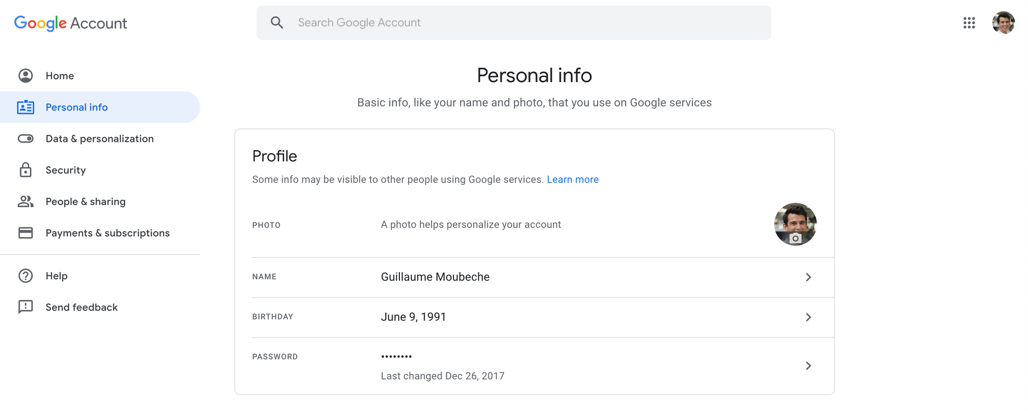 Set up your email account profile correctly