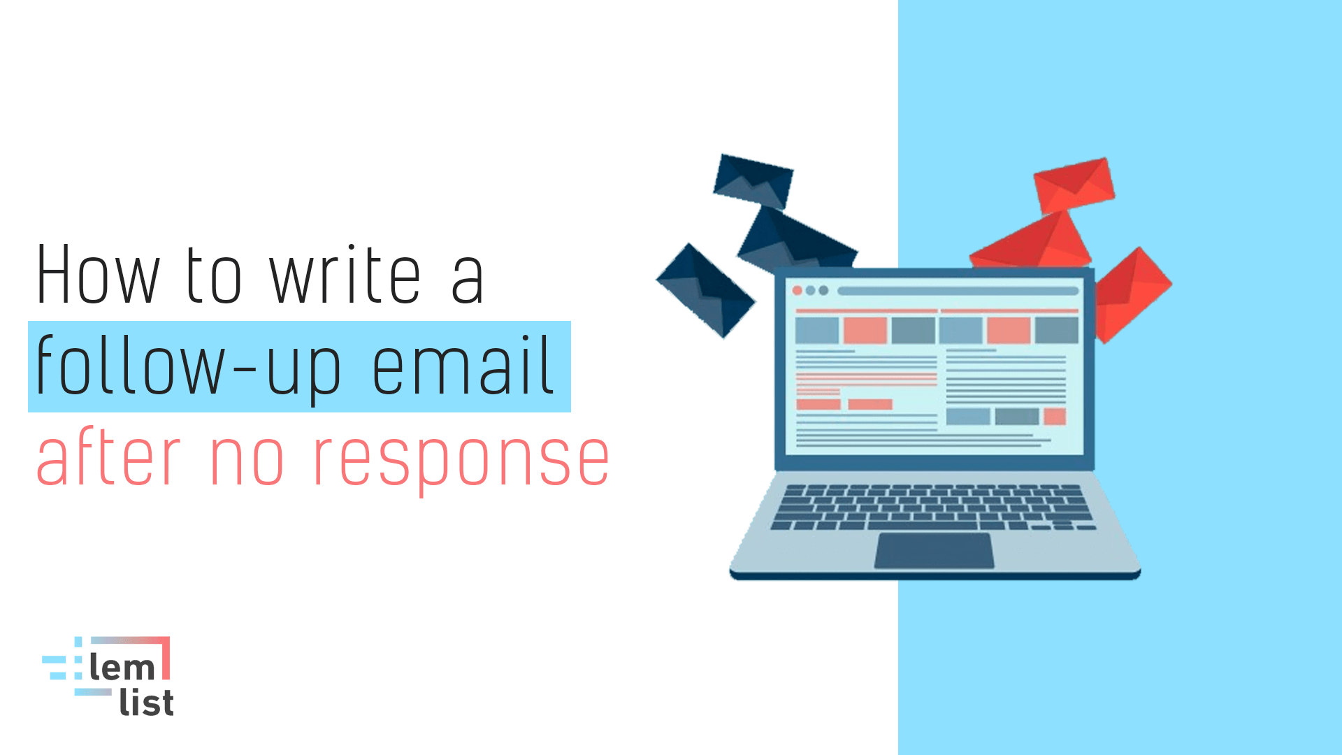 How to write follow-up after no response