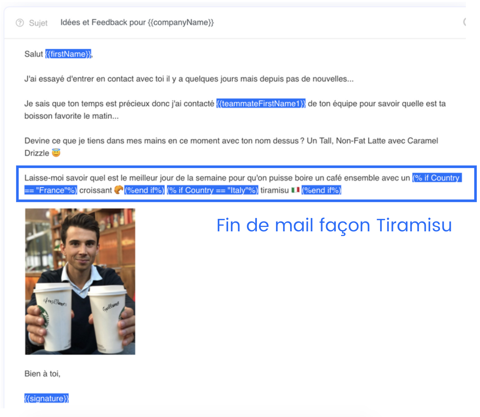 fin cold email efficace
