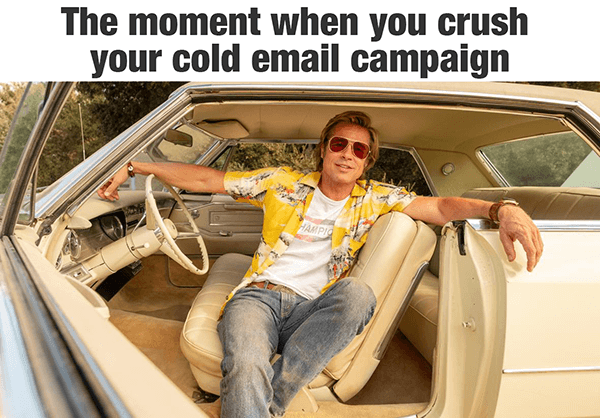Campagne cold mail