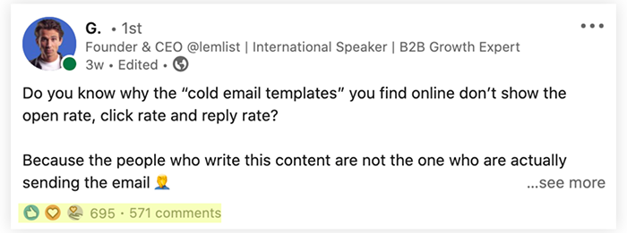 How to create a post on LinkedIn that will command attention