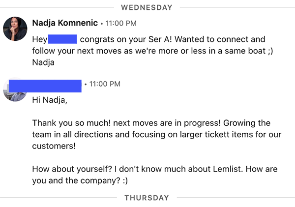 LinkedIn connect messages
