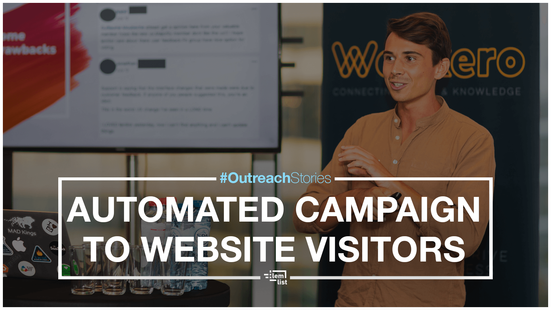 [#OutreachStories] Running an automated campaign to close website visitors