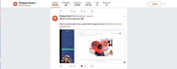 How to end #1 Product of the Day on Product Hunt with (almost) no preparation
